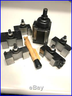 10-15 Wedge Type Quick Change Tool Post 6 Pcs/Set for 200 BXA, #0251-0222
