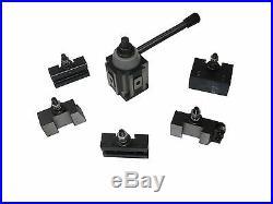 250-400Kit Quick Change Tool Post Holder 14-20 Swing Diameter for Lathe Machine