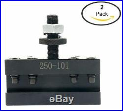 2 pack 250-101 AXA #2QUICK CHANGE TURNING FACING & BORING CNC TOOL / POST HOLDER