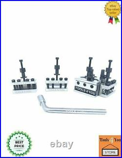 5 Pieces Set T37 Quick-Change Tool Post Suitable Myford Lathes Wooden Box ML7