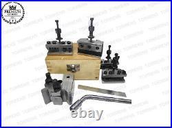 5 Pieces Set T37 Quick Change Toolpost Lathe Premium Quality Tool post