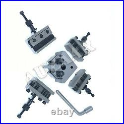 5 Pieces Set T37 Quick-Change Toolpost Myford ML7 Standard Boring Parting Holder