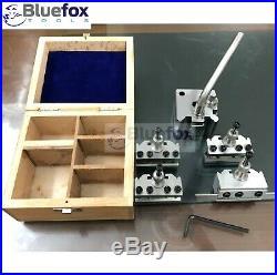 5 Pieces Set T37 Quick-Change Toolpost Myford ML7 Wooden Box