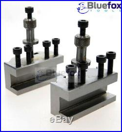5 Pieces Set T37 Quick-Change Toolpost Myford Standard Boring And Parting Holder