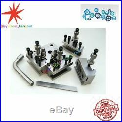 5 Pieces Set T37 Quick-Change Toolpost Myford high quality! Free shipping