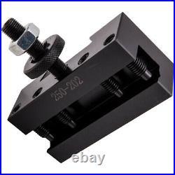5pcs 10-15 BXA #1 Quick Change Turning Facing & Boring Tool Post Holder 250-202