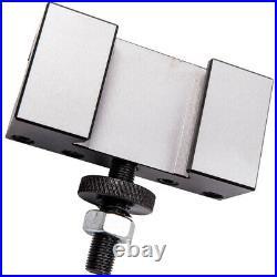 5pcs Quick Change Turning & Facing Lathe Tool Post Holder 250-201 New