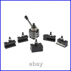 6- 12 Lathe Quick Change Tool Post and Tool Holder Set for Lathe