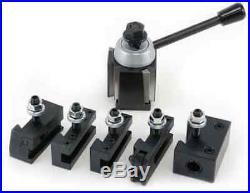 6-12 Quick Change Tool Post Set Wedge Type Axa