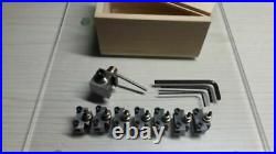 ALL NEW 8mm watchmaker lathe Quick Change Tool Post QCTP