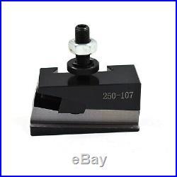 AXA Piston Type Quick Change Tool Post and Tool Holder Set for Lathe 6- 12