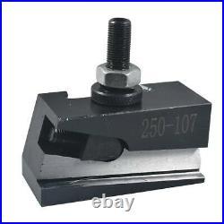 AXA Size 250-100 Set Piston Type Quick Change Tool Post Set for Lathe 6- 12 USA