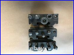 Algra Dickson style quick change tool post Size A with toolholders