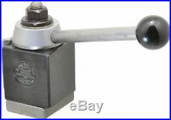 Aloris 10 to 15 Inch Lathe Swing, Wedge Type Quick Change Tool Post 4-5/8 Inc