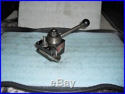 Aloris AXA Quick Change Tool Post, Wedge Type Clamp, with AXA-2 Holder