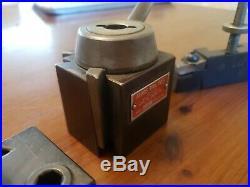 Aloris AXA Quick Change Toolpost axa-16 axa-4 lathe machinist