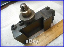 Aloris CA-10 Quick Change Knurling Holder for Tool Post Made In USA