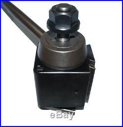 Aloris CA Tool Post, 14 20 Lathe Swing Toolpost, Quick-Change Wedge Style