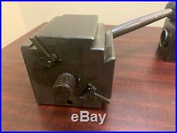 Aloris CA Toolpost With (3) Aloris Quick Change Holders