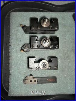Aloris CXA Wedge Type Quick Change Tool Post with set of (6) Holders