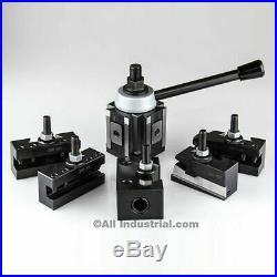 BXA Piston Tool Post Set High Precision Quick Change Lathe Holder 200 Series