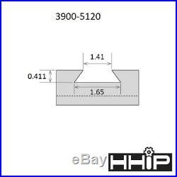 Bxa-#200 Wedge Type Quick Change Tool Post Set (3900-5120)