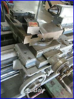 CADILLAC 17 x 33 Manual Engine Lathe with 10 Chuck & Quick Change Tool Post