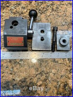 CLEAN! KDK-100 Series QuicK Change Lathe Tool Post, Riser, T-Nut Assmbly L407
