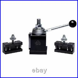 Colton Industrial Tools 3 Pc BXA Machinist Core Quick Change Wedge Tool Post Set