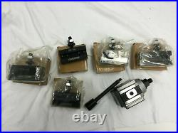 DEMO-9 12'' Piston Type Quick Change Tool Post 6 Pcs/Set for 100 AXA
