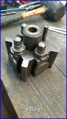 DixonT2 quick change toolpost in good condition