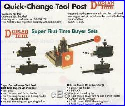 Dorian Quick Change Tool Post SET AXA Up To 12 NEW