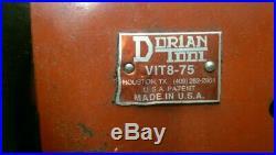Dorian tool post holder VIT8-75 lathe turret quick change