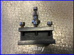 Emco Maximat Rare Quick Change Toolpost Complete with 4 Toolholders