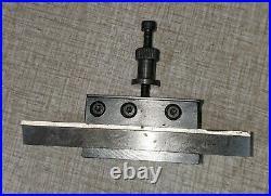Emco Maximat V10-P Lathe Parts Dickson Style Quick Change Toolpost Set C31U