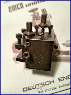 Emco Unimat Sl 3 Lathe. Quality Steel Q/change Tool Post