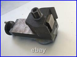 Emco compact 5 Lathe Top slide with quick change tool post