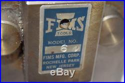 FIMS Tools, Model 60 Heavy Duty Steel Tool Post, Quick Change Machinist Tool