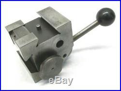 Hardinge L18 Quick-change Lathe Tool Post For Hlv-h Lathes