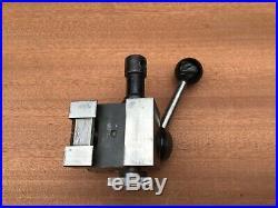 Hardinge L18 Quik Change Lathe Tool Post