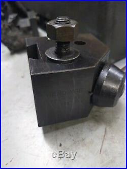 Hardinge Lathe Model L18 Quick Change Toolpost