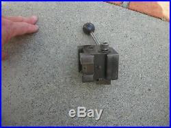 Hardinge quick change toolpost L-18 nice condtion south bend logan atlas lathe