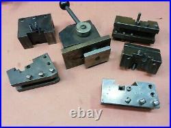 KDK 100 Quick Change Tool Post Set 105667 B1 B2 B3 B4 B5