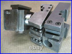KDK LATHE QUICK CHANGE TOOL POST with HOLDERS 101 104 105 106 for LOGAN SOUTH BEND