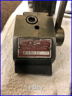 KDK Quick Change TOOL POST (qty 2) With 10 Tool Holders NO RESERVE