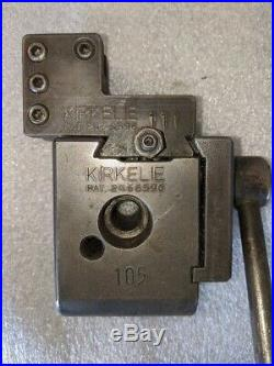 KIRKELIE 105 Quick Change Lathe Tool Post 111 Holder