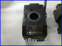 Kdk No 200 Quick Change Lathe Tool Post With 4 Holders