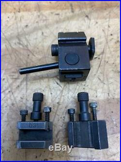 Levin Lathe Rapid Change Tool Holder Set 011 031 032 Quick Change Post Tripan