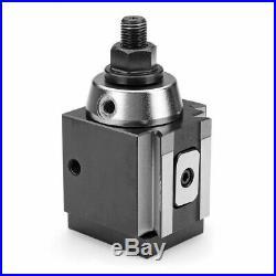 Machifit DMC-250-100 Piston Type Locking Tool Post Steel Quick Change Tool Post