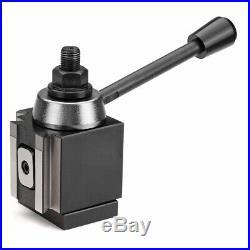 Machifit DMC-250-200 Piston Type Locking Tool Post Steel Quick Change Lathe Hold